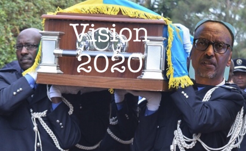 Kagame's Fantasy Of Transforming Rwanda Into A Middle Income By 2020 Is Officially Dead – The New Lie That Rwanda Will Become A Middle Income Nation By 2035 Will End The SameWay